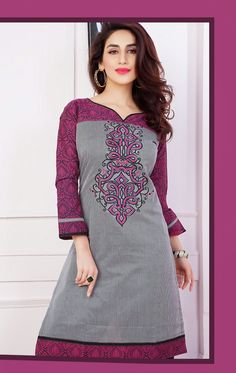 fabulous grey kurtis will add shine to your statement with embroidery work.Addsharesale is a provide a huge collection of wholesale online collection for suppliers and sellers at one place. www.addsharesale.com