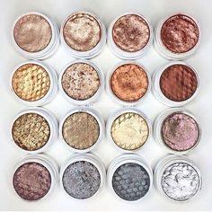 Colourpop shadows \\ metallic