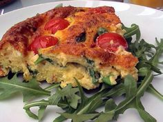 Bacon and Egg Casserole With Tomatoes