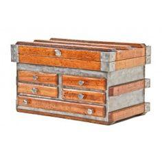 19th century mechanics tool chest