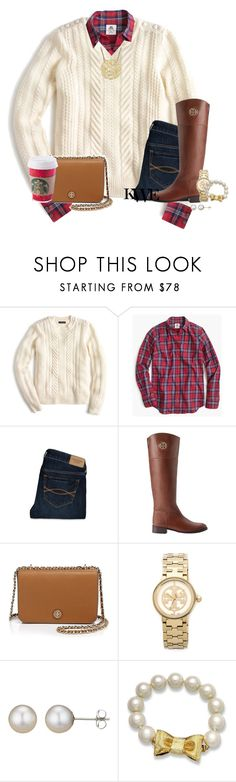 """""""Don't let boys get in the ways of your Family, Freinds, or Grades. It's not worth it."""" by preppy-southern-gals ❤ liked on Polyvore featuring J.Crew, Thomas Mason, Abercrombie & Fitch, Tory Burch, A B Davis and Kate Spade"""