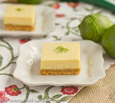 Key Lime Bars with Coconut Crust…