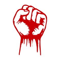 Image of a raised fist, symbol of resistance, revolution and fight against any kind of oppression. Blue In The Face, Classical Liberalism, Raised Fist, Free Market, Socialism, Goods And Services, Oppression, America, Image