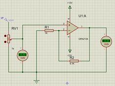 OPA2134 Op-Amp Circuit Diagram Circuit Diagram, Circuits, Amp