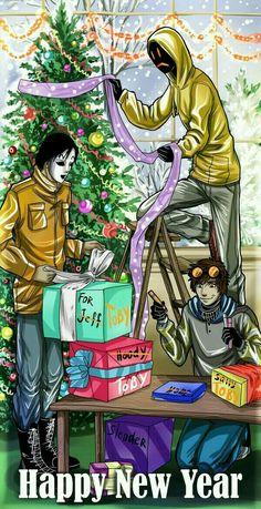 Este año los proxies sacadon su lado navideño