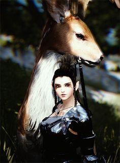 "kynarreth: ""i made a friend and i want it as a mount """