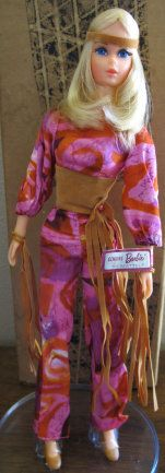 Live Action Barbie from 1973...  my very favorite Barbie  :-)