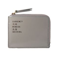Fab.com | FLIGHT 001: Box Currency Wallet Cement, at 19% off!