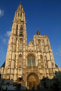 The Cathedral of Our Lady is a Roman Catholic cathedral in Antwerp, Belgium
