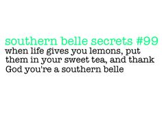 Growing up Southern is a privilege