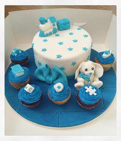 #kids #theme #cupcakes #blue #babyshower #babyshowercake #babycake #babycakes #cakedaily #art #artist #thejestercakery #edibleart #cakeart #cakeartist #instacake #cakecakecake