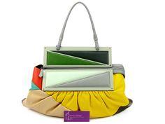 3c996d1af7 FENDI Multicolour Leather Clutch Bag Good Condition Ref.code-(QKRK-5)
