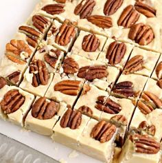 These sweet Butter Pecan Fudge is just like you would get on a vacation. Creamy…