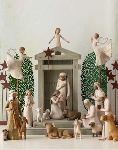Willow Tree | Willow Tree Nativity, Willow Tree Figurines, Willow Tree Angels