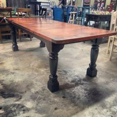 Copper Dining table Restoration Hardware Inspired contact us ...