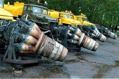 Russian  snow blowers
