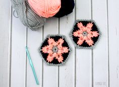 Thanks to Knit Picks for providing the yarn for today's post! So today I have something fun for you! Today I am sharing a pattern as part of my very first Crochet a Long! (CAL – to those who actually know about these things – it is new to me!). It's my first time – … Love Crochet, Crochet Crafts, Crochet Yarn, Yarn Crafts, Crochet Flowers, Crochet Projects, Crochet Blankets, Crochet Granny, Double Crochet