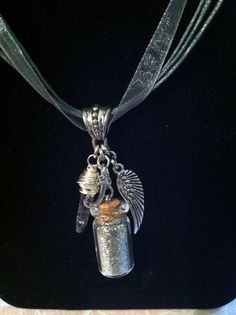 The Infernal Devices Inspired Charm Necklace