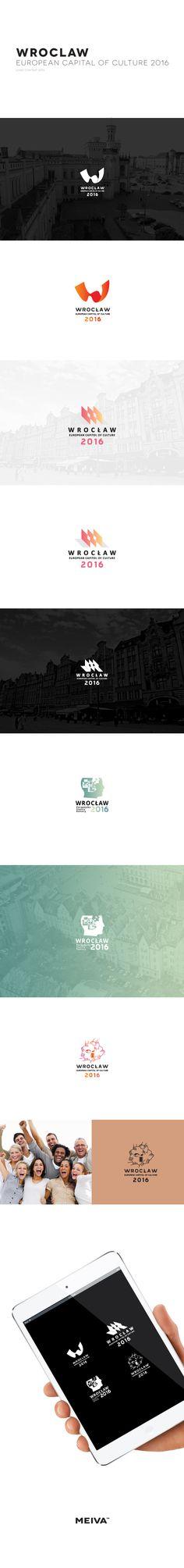 WROCLAW ESK Logo Contest Michał Jakóbczyk / Meiva™ by Michał Jakóbczyk #wroclove #branding