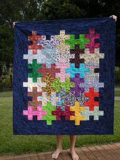Jigsaw quilt tutorial