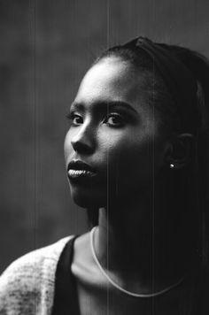 Photo by Mat Marash - Model:Farhia Hagi  (scratched film due to pre-production error)