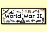 'World War II' display heading