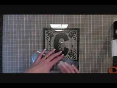CRICUT PROJECT - Applying vinyl to glass & tile (plus a tip on how to keep the vinyl straight when applying it! Use painter's tape!