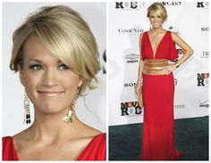 Carrie Underwood... the woman my boyfriend calls his wife.... she is pretty gorgeous.....