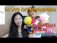 Korean Lesson 1. HOW TO GREET AND INTRODUCE ONESELF | Saranghae Korean w...