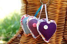 Chaveirinhos de Coração