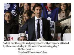 DC-Jockularity: NHL Rallies Around Ottawa After Terror Attack on Parliament Hill