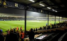 Roots Hall, Southend United FC. Capacity 12,392