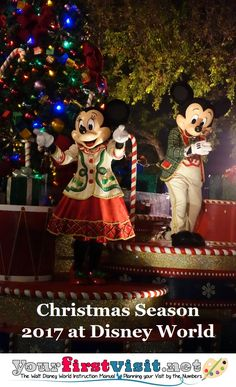 Christmas 2017 at Walt Disney World - what to expect | yourfirstvisit.net