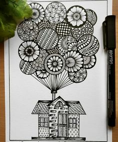 Creative Image of Doodle Art Coloring Pages . Doodle Art Coloring Pages Doodle Art Coloring Pages Hot Air Balloons Doodle Art Doodle And Cute Doodle Art, Doodle Art Designs, Doodle Art Drawing, Cool Art Drawings, Mandala Drawing, Art Drawings Sketches, Zen Doodle, Mandala Art Lesson, Mandala Artwork