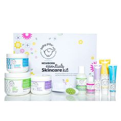 Newborn Essentials Skincare Kit - this is a must-have and makes a great baby shower gift! #PNshop