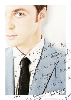 Jim Parsons as Sheldon Cooper.