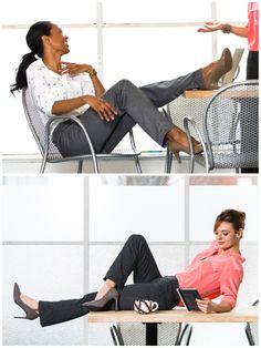Dress Pant Yoga Pants: Executive style, yoga-pant comfort.