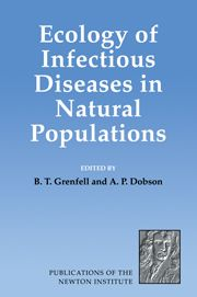 BT Grenfell and AP Dobson (eds.), Ecology of Infectious Diseases in Natural Populations