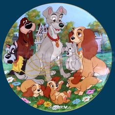 Lady and the Tramp - Including Songs From The Motion Picture - Picture Disc LP Vinyl Record Album, D Walt Disney, Disney Dogs, Disney Art, Disney Movies, Disney Pixar, Cute Disney Wallpaper, Wallpaper Iphone Cute, Couple Disney, Lady And The Tramp