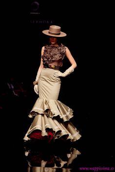 Patrón para realizar una falda de flamenca