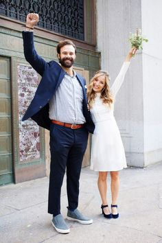 "10 Couples Who Got Married Today, Because Love Is Still A Thing #refinery29  http://www.refinery29.com/2016/11/129494/post-election-wedding-day-city-hall-photos#slide-1  Amanda & Daniel""[The election] been a damper, but we decided to infuse a little love into the situation. Love is what keeps us together. It's hate that divides us and we've got to keep loving and love each other.""..."
