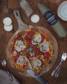 Vegetable Pizza, Vegetables, Food, Gourmet, Iberian Peninsula, Spanish Cuisine, Home Made, Vegetable Recipes, Eten