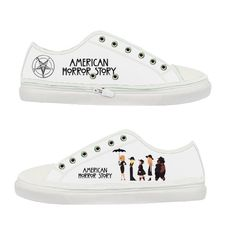 American Horror Story Coven Women Canvas Shoes  by CornucopiaStore, €33.60