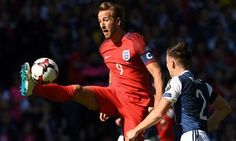 Harry Kane showed what he is made of in #England draw with #Scotland.