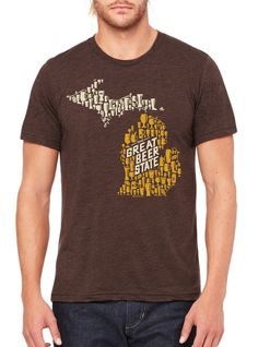 Michigan is a great beer state.  Celebrate that with this graphic tee from Tee See Tee.  Find more at theshopgal.com!