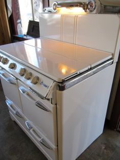 Reliance Appliance . com  Vintage O'Keefe double oven. LOVE!!!