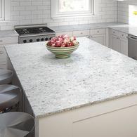 Allen Roth Titanium Swell Quartz Kitchen Countertop Sample