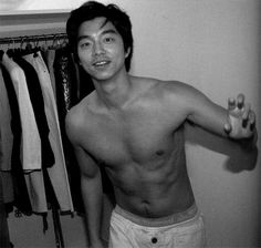 Happy Birthday GonToday is Gong Yoo's birthday! The K-drama actor turns 34 years old today, yet still has the chocolate abs of a 21 year old. I mean, Gong Yoo in clothes is nice and all, but it's his birthday and there's a rule that says guys with nice abs need to be shirtless on their birthday. I'm not even lying, this rule is totally real (in my mind)! So obviously, Gong Yoo and I decided the best way to celebrate his birth would be by posting photos of him shirtless, so here they are!g…