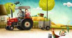 Tractor on Behance