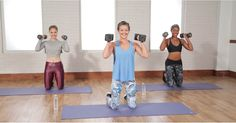 30-Minute Full-Body Workout With Weights http://www.popsugar.com/fitness/30-Minute-Full-Body-Workout-Weights-42796164